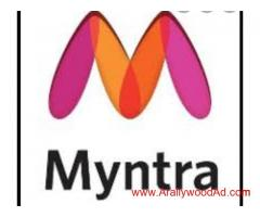 Casting going for MYNTRA clothing leading brand