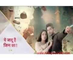 "new up coming project on star plus channel "" ye jadu hai jinn ka "" supernatural drama"