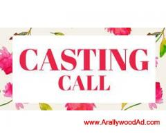 7570000840 Casting call for Hindi feature film.  Required lead & second lead female actress for