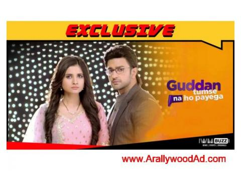 zee tv channel running tv serial--guddan tumse naa ho payega ( drama / comedy )