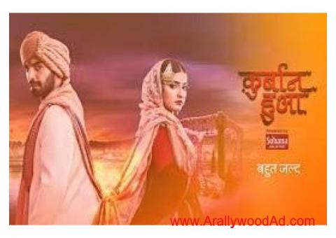 Zee Tv' New serial - Qurbaan Hua' required only 3 characters