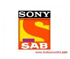 Audition calls for upcoming TV serial on SAB TV. Official no- +91 91529 83859
